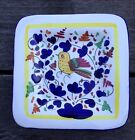 Mario Sambuco, Deruta, Italy Yellow Bird iHanging Wall Plate Hand Painted