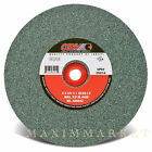 CGW 6x3 4x1 Grinding Wheel Green Silicon Carbide 100 Grit for Bench Grinder