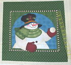 Cranston Angela Anderson SNowman Pillow block 16