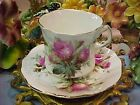 Hammersley Roses Bone China Tea Cup & Saucer Excellent Condition England