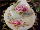 Vintage Dutchess Roses Bone China Tea Cup & Saucer Made in England