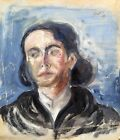 Unknown Unidentified European Woman Portrait 1938 German Polish Expressionism