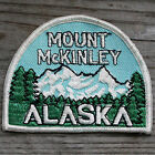 MT MCKINLEY National Park Vintage ALASKA Travel Ski Patch Hiking MOUNTAINEERING