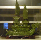 Japanese Chinese ASIA  jade carving of DRAGON SHIP cheapest price around LOOK!!