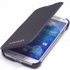 Samsung Galaxy S4 IV i9500 PU Leather Flip Case Cover Pouch Card Holder TF-Black