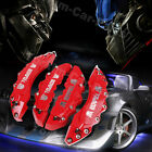 Transformers Brembo Metal Style Disc Brake Caliper Covers 4pcs Front Rear Red 21