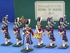 KING & COUNTRY BRITISH SEAFORTH HIGHLANDERS SHPB BAGPIPE BAND SET 1 GLOSSY MIB