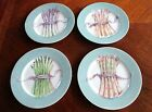 Set of 4 Williams-Sonoma Asparagus Brunch Salad Plates Retired design Japan