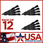12 Pack Craftsman 134148 19 15 16 5 Point Formed Mulch Lawn Mower Blade