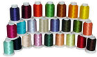 24 CONES POLY MACHINE EMBROIDERY BOBBIN THREAD 60WT THREADELIGHT
