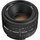 Nikon AF Nikkor 50mm f 18D Lens for DSLR Cameras