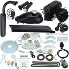 Black Body 50CC 2 Stroke Petrol Gas Bicycle Engine Kit Motorcycle Engine Part
