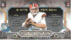 2014 TOPPS STRATA FOOTBALL HOBBY BOX 2 AUTOGRAPHS , 1 RELIC INCL ,1 AUTO RC PER