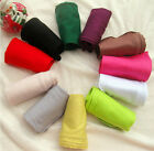Arm Chic Cotton Fashion Long Fingerless Gloves Women UV Protection Warm Sleeves