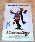 ACTOR PETER BILLINGSLEY SIGNED A CHRISTMAS STORY 12X18 MOVIE POSTER PHOTO W COA