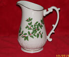 Lenox Holiday (Dimension) 32 oz Pitcher with 24K gold trim