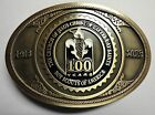 Boy Scouts of America LDS 100th Anniversary Belt Buckle - BSA Order of the Arrow