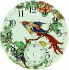 16s Waltham Watch Co. Multi Colored Bird Flowers Nature Scene Pocket Watch Dial