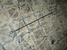 ANTIQUE  PRIMITIVE RAT TAIL BLACKSMITH FIRE HEARTH FORGED IRON FORK INTRNT