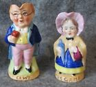 Dickens Pickwick & Mrs Gamp Toby Pitchers Germany with Chelsea Gold Anchor Mark