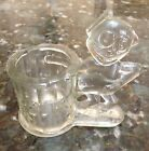 VERY RARE!! ANTIQUE VINTAGE 1920's Felix The Cat Candy Dish Bank Glass