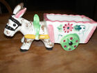 Adorable Colorful Donkey Cart  ~ Made in Japan