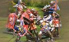 THE COLLECTORS SHOWCASE AGINCOURT 1ST RELEASE MEDIEVAL KNIGHTS SET MIB
