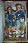 Hannah & Henry Dolls by Donna Rubert Porcelain 18