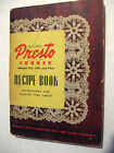 Presto Cooker Recipe Book Vintage 1955 Cookbook Pamphlet Booklet