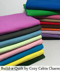 Solid Color Flannel Fabric 1 yard 36 x 42 29 Color Choices FREE SHIPPING
