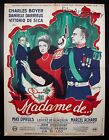 EARRINGS OF MADAME DE 1953 French 23x31 poster Max Ophuls Filmartgallery