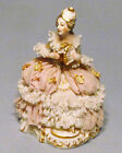Antique Germany Meissen Miniature Dresden Lace Victorian 4