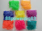 2400 Neon Color (8) Loom Rubber Bands & 64 S Clips US Seller