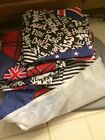 Twin Size Bed Skirt With Pillow Case And Pillow Shams Girls Rule New