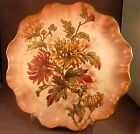 RARE Book Piece Dessert Doulton Burslem  Plate with  Floral Decoration!  Gilt