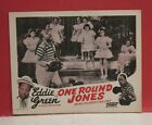 Set of 4 Lobby Cards- Eddie Green in One Round Jones -All Star Colored Cast