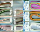 Quilling Paper MULTI COLORED Packs Many ASSORTMENTS To Choose From 1 Wide