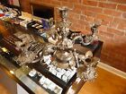 Antique Reed & Barton 166 Silverplate Epergne Candelabra Wow!