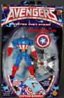 Avengers United They Stand Captain America action figure MIP Toy Biz 1999