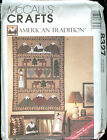 McCall's Crafts #8327 American Tradition Quilts, Pillows, Stockings Pattern