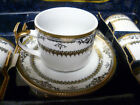 Presentti Italy Demitasse Cup And Saucer Set - Gold Collection - NEW