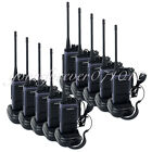 10PCS Walkie Talkie BAOFENG T88 UHF 5W 16CH FM Radio Monitor Scan Transceiver