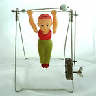 TRAPEZE ARTIST CELLULOID WIND UP JAPAN TOY ARTY Vintage Antique Working Order