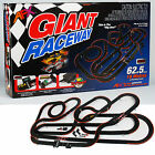 Latest AFX Giant Raceway Electric Ho Slot Car Race Set Mega G+ Tri Power # 21017