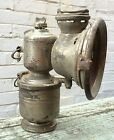 ANTIQUE UK English PANTHER BICYCLE BIKE motorcycle CARBIDE LAMP