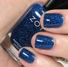 Zoya Zenith Collection - Dream - Deep Blue with Holographic Glitter Nail Polish