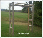 Weathered Cedar/Birch Wedding Arbor Kit (Large)