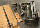 CORBIN HORIZONTAL SPRING PIVOT HINGE & 2 DOOR FLOOR BOLT LOCK LATCH