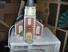 Church, Porcelain made in 1992 by Lemax, Dickensvale Porcelain Lighted  Church