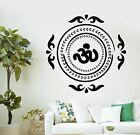 Wall Decal Buddha Native Indian Ornament Om Vinyl Sticker z2882